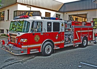 Artistic Fire Apparatus