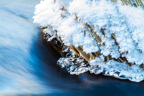 Yosemite Winter - Ice & Water