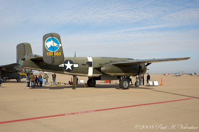 B-17 Nine-0-Nine and pals at Alliance March 08