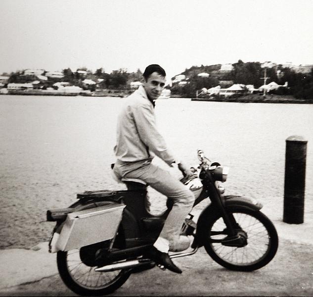 Edwin on his Bike in Bermuda.JPG