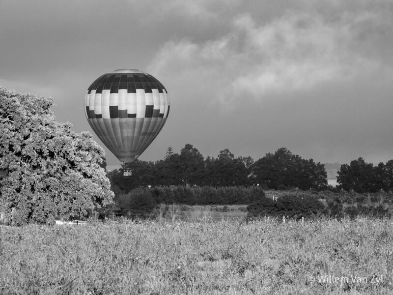 20190609 Hot Air Balloon near Klapmuts, Stellenbosch