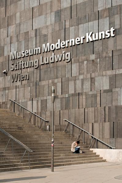 Museum of Modern Art (MUMOK) Sign, Vienna