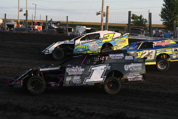 Benton County Speedway Armed Forces Night, 7-15-2018