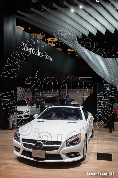 2015 N. A. International Auto Show