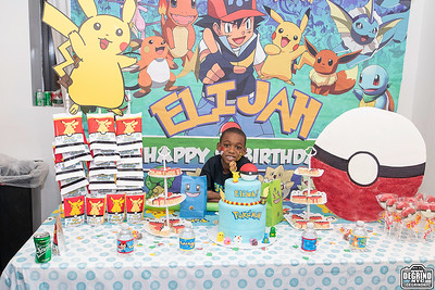 ELIJAH 8TH BIRTHDAY PARTY