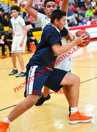 12-9-17 - Rolling Hills Prep vs. St. Mary's (Hoophall West)  Basketball Game