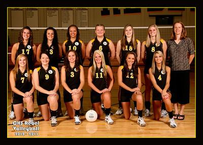 Crestview Volleyball 2012-2013