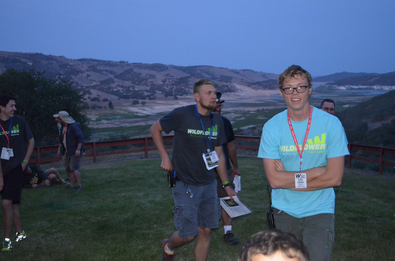 The Cal Poly Amateur Radio Club provides support at Wildflower 2014. May. 2014. Photo by Dan Malone