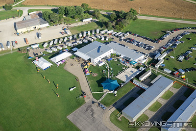 Aerial Photos - Chicagoland Skydiving Center