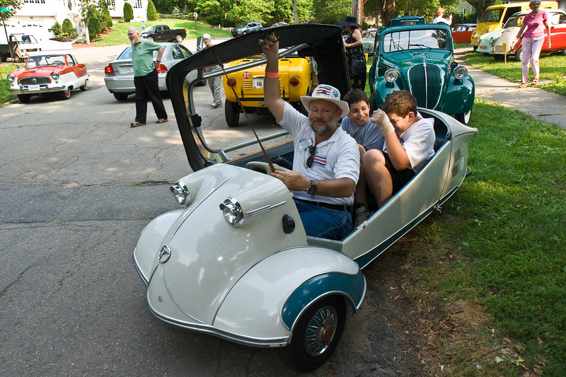 Gould's MicroCar Event, Newton, Mass. 08.07.13