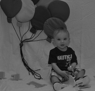 Jase's first birthday