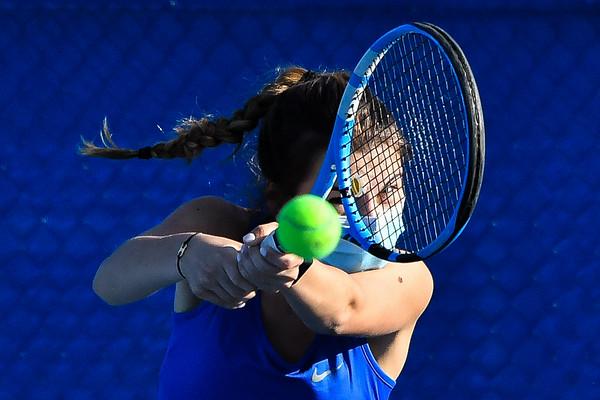 Hamilton Tennis Practice 4-23-21