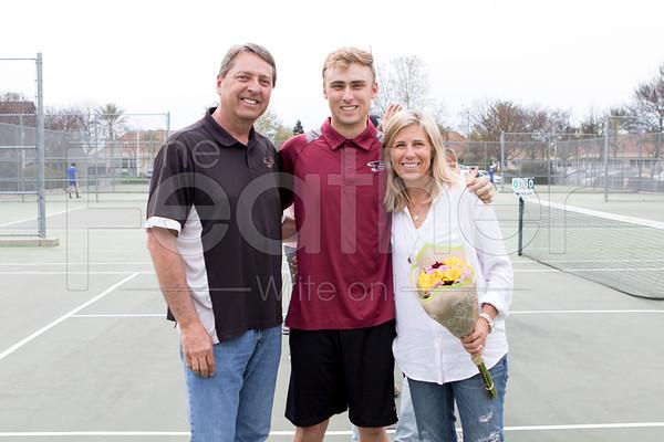 Tennis Senior Night