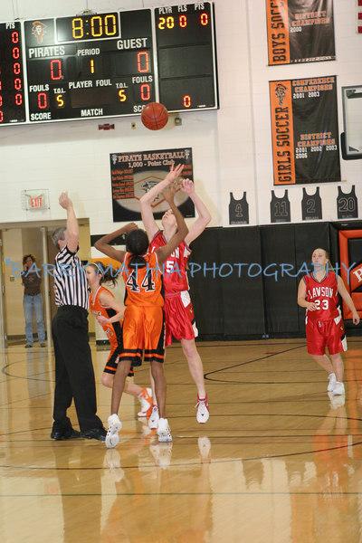 Lawson vs Platte County Girls JV 07