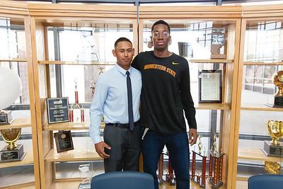 Americas High School Jamuare Gregg/ Christain Estorga Signing