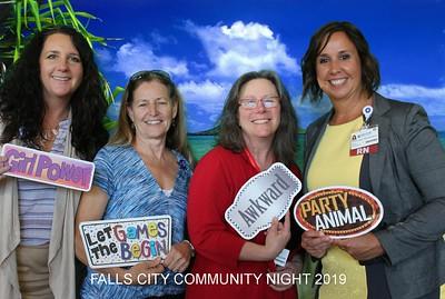 Falls City Community Night Photobooth 4.30.2019