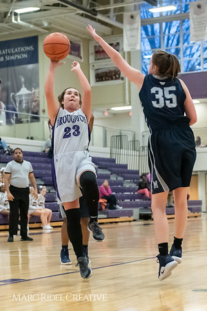 Broughtongirls JV basketball vs Millbrook. February 14, 2019. 750_7081