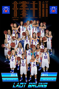 Lady Bruins 2014-15