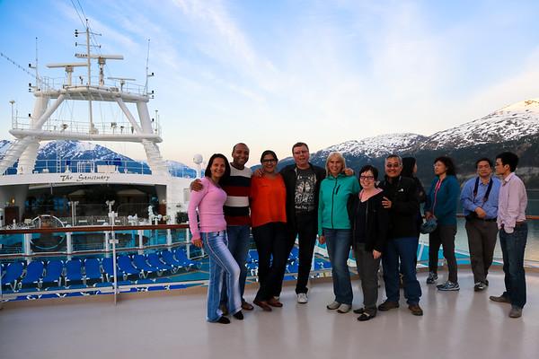 Crown Princess Cruise activities, Alaska - May, 2014