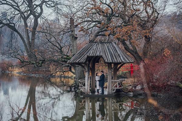 Central Park Wedding - Tara & Pius