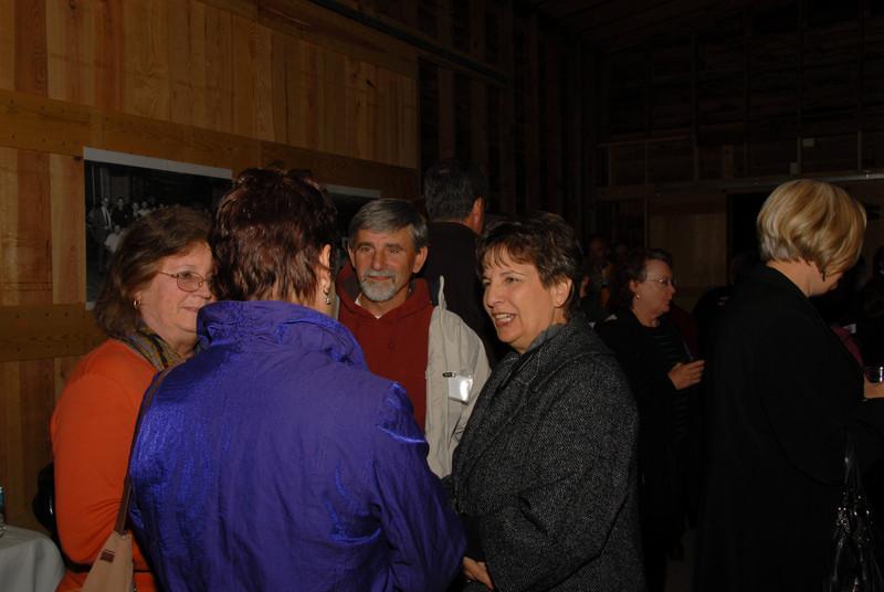 Barbara Beale (Capron), Ernie Morris, Pat Lawson (Morris)