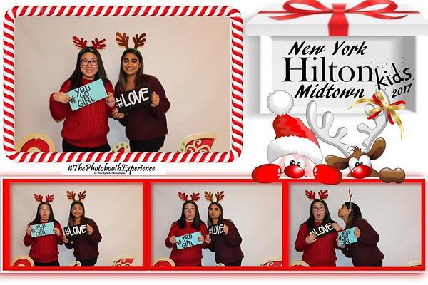 Hilton kids holiday 2017