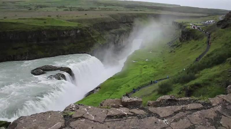 Gullfoss, Iceland waterfall, Iceland