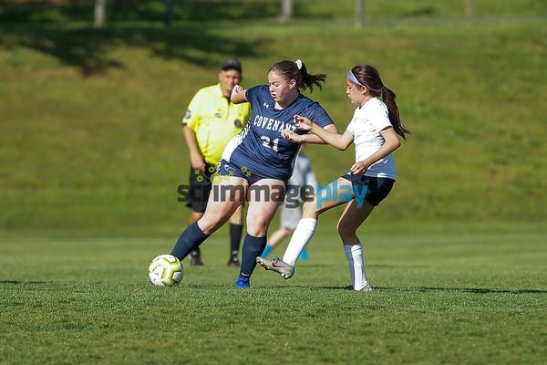 Covenant girls soccer versus HRA 2021