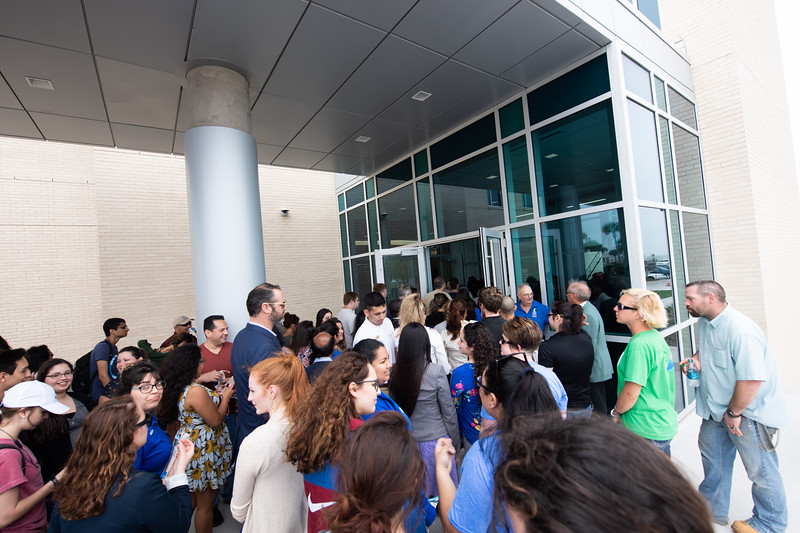 Texas A&M University-Corpus Christi's Tidal Hall grand opening.
