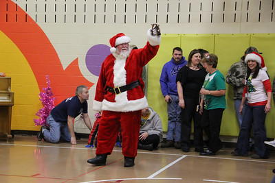 Christmas Program, Rush Township Elementary School, Tamaqua (12-21-2012)