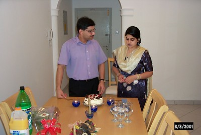 Kamran & Mahreen Wedding Anniversary 2001