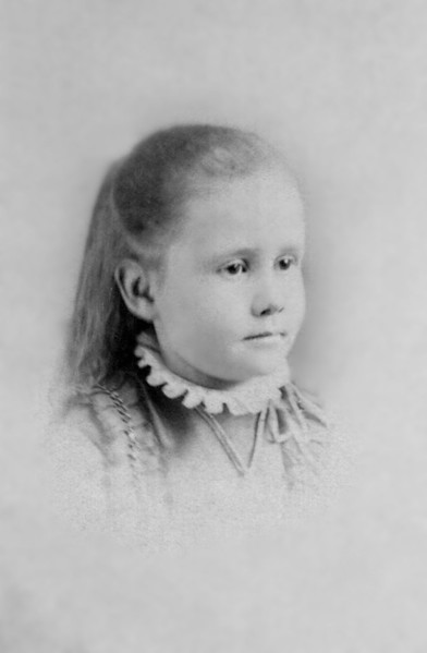 """Mary Wentworth """"May"""" Mathivet, Age 5"""