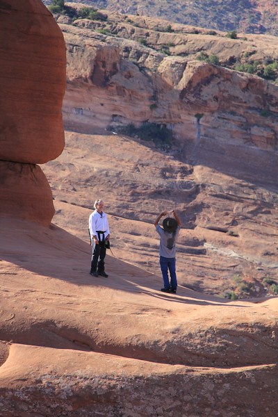 20180716-025 - Arches NP - Dad and Brian at Delicate Arch.JPG