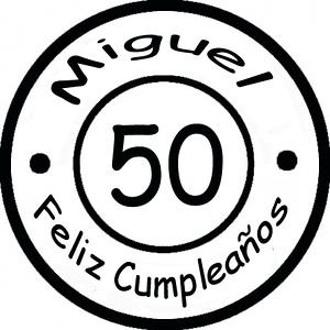 Cumpleaños  Miguel