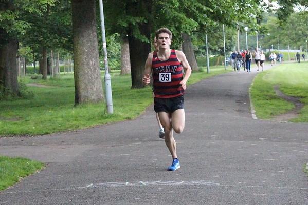 Edinburgh Sri Chinmoy Races 2 miles Wed 22 June 2016