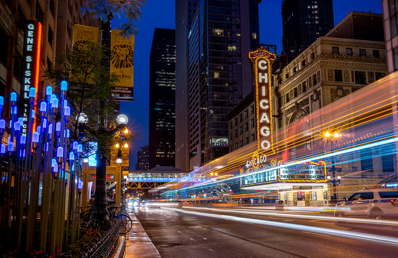 Running the lights in Chicago