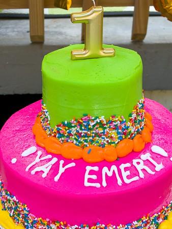 Emeri's 1st Birthday