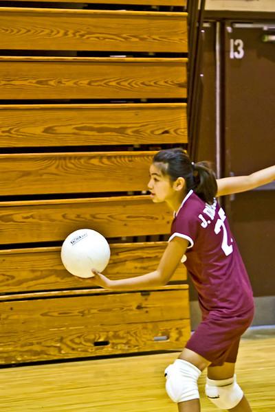 2009-09-23 5th-6th Grade Girls Volleyball