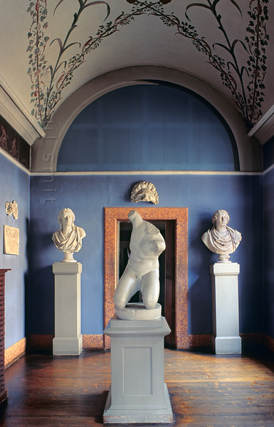 Bust-room in  Goethe's House in Weimar.