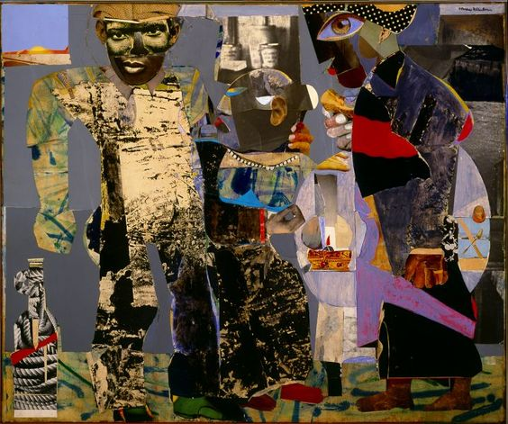 "Romare Bearden, ""Return of the Prodigal Son"" (1967)"