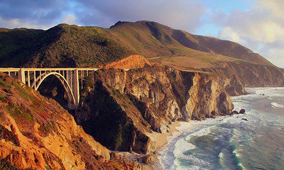 Bixby Bridge Headlands