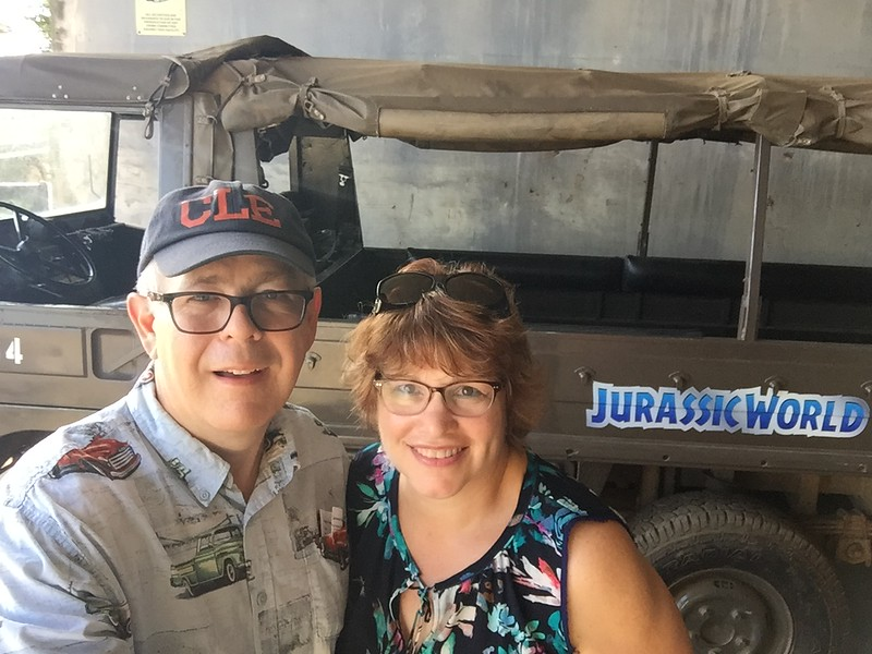 Jeep from Jurassic World