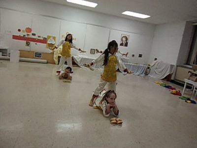 Children's Folk Dance Troupe Shoe and Puppet