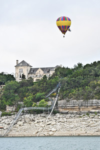 Lake Travis Balloon Launch, August 2011