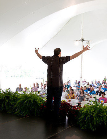 Donny Epstein at Sherman College Lyceum May 2012