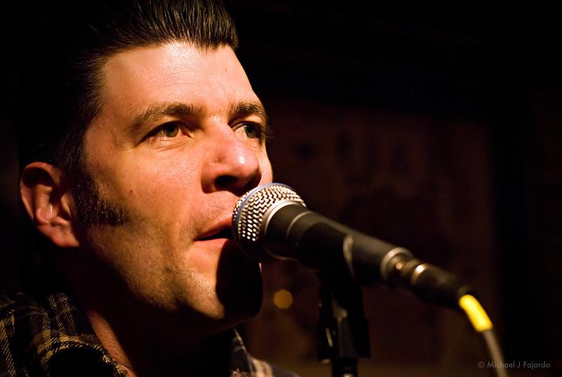 Tye Battistella of Reno Divorce Acoustic set at Scruffy Murphy's Irish Pub Denver, CO  March 10, 2011