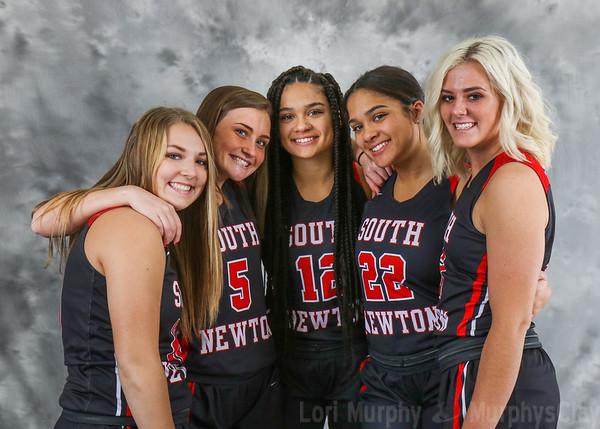 SNHS Girls Basketball Team 2018-2019