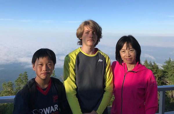 Climbing Mt Fuji, Matsuri/Festival, & Kakigori-love
