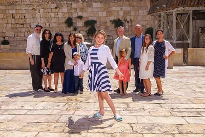 Valentina's Bat Mitzvah in Israel