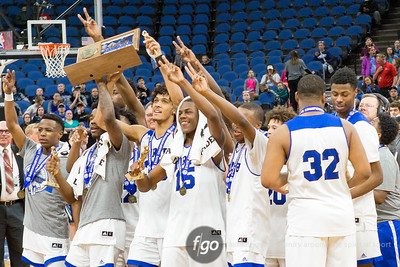 3-25-17 North Woods v Minneapolis North Class A Boys Basketball State Championship